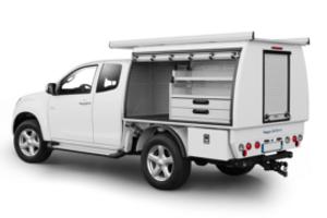 Am nagement de v hicule utilitaire m tallique aluminium for Amenagement interieur vehicule utilitaire