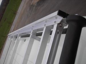 Galerie de toit utilitaire aluminium plate