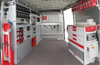 Amenagement interieur camion